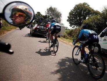 """Quintana: """"Hay que librar la siguiente etapa antes de afrontar el pavé"""""""