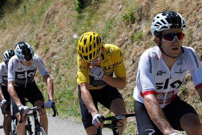 Thomas, rey del Alpe D´Huez, refuerza el maillot amarillo