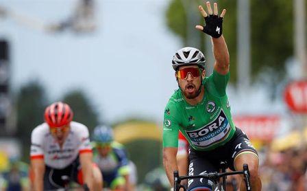 Sagan se destaca con triplete en Valence y Thomas sigue líder
