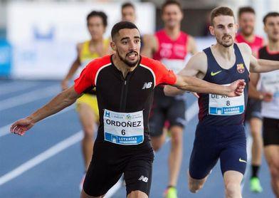 Saúl Ordóñez batió el récord de España de 800 con 1:43.65