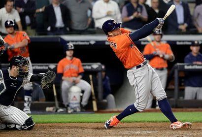 0-7. Springer pega grand slam en la victoria de los Astros