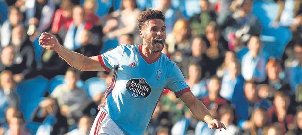 Sergi Gómez está apartado del Celta, que pide cinco millones.