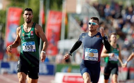 Óscar Husillos gana el 400 con 45.22