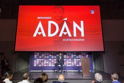 """Adán: """"He elegido venir a uno de los mejores clubes del mundo"""""""