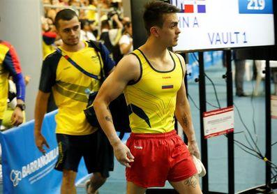 El colombiano Jossimar Calvo se retira y Cuba hace el 1-2 en gimnasia