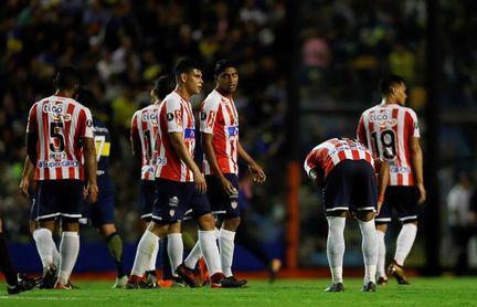 Junior le apunta a la remontada ante Lanús en la segunda ronda de la Sudamericana