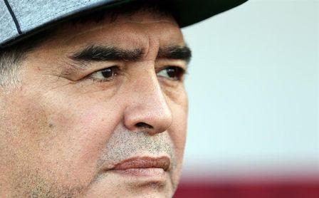 """Maradona dice que la AFA es un """"desastre"""" y evita hablar del seleccionador"""