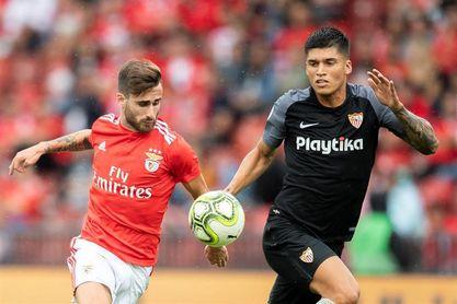 El Sevilla vende al argentino Correa al Lazio italiano