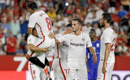 El Sevilla FC-Extremadura, en directo