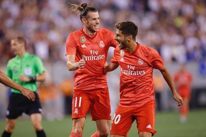 2-1. Bale y Asensio marcan los goles del triunfo del Real Madrid