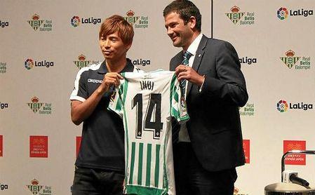 Inui pide el '8' de Camarasa y dejaría libre el '14' a Carvalho
