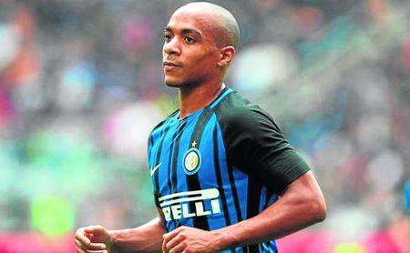 Joao Mario, con el Inter.