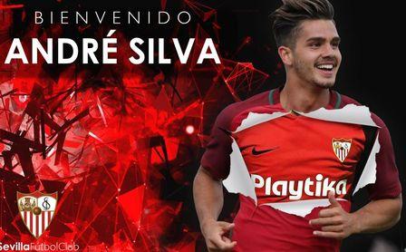 André Silva, nuevo jugador del Sevilla FC.