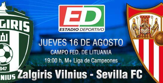 El Sevilla no puede especular contra el Zalgiris.