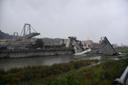 La Serie A aplaza los partidos de Génova y Sampdoria tras el derrumbe del viaducto Morandi