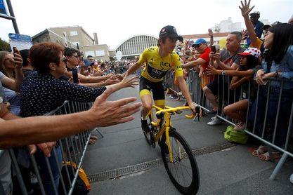 El ganador del Tour de Francia, Geraint Thomas, vuelve en la ronda germana