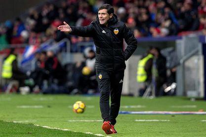 Marcelino afirmó que cree que Rodrigo se va a quedar en el Valencia