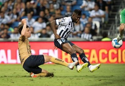 El argentino Nicolás Sánchez le da triunfo al Monterrey sobre los Pumas
