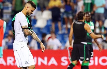 El Inter arranca con derrota en Sassuolo y Dzeko da el triunfo al Roma con un golazo