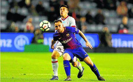 Paco Alcácer no entra en los planes de Ernesto Valverde y saldrá, presumiblemente, del FC Barcelona.