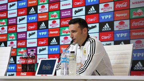 Scaloni: A ningún entrenador le viene bien no contar con Messi