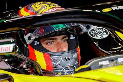 """Sainz, con """"buenas sensaciones"""" tras los entrenamientos en Bélgica"""