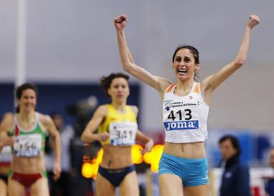 Los españoles Llorenç Sales y Solange Pereira ganan el oro en 1.500 metros