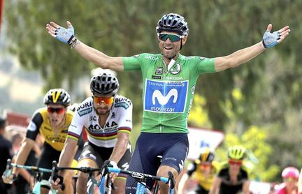 Valverde firma el doblete en Almadén, Molard sigue líder