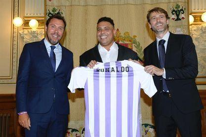 """Ronaldo promete """"competitividad y transparencia"""" para el futuro del Valladolid"""