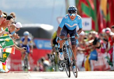 La Camperona destapa un duelo Nairo-Yates, con Valverde a la expectativa