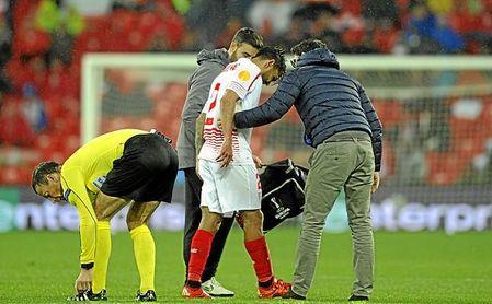 Desde que se lesionó ante el Shakhtar, Trémoulinas no ha vuelto a disputar un partido oficial.