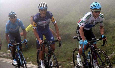 """Quintana: """"Estamos igualados y ahora espero hacer una buena crono"""""""