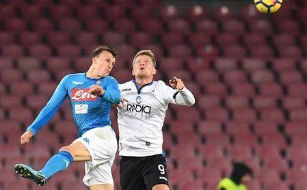 El Nápoles pierde al defensa Vlad Chiriches por una lesión de cruzado