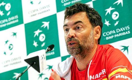 """Bruguera: """"Sin Rafa, Francia es más favorita, pero vamos a competir"""""""