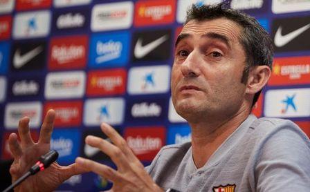"""Valverde: """"Tenemos que echar mano de más de once jugadores"""""""