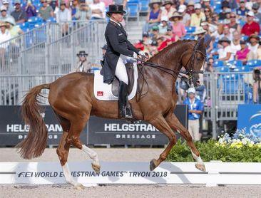 La alemana Isabell Werth se proclama campeona del mundo de doma clásica