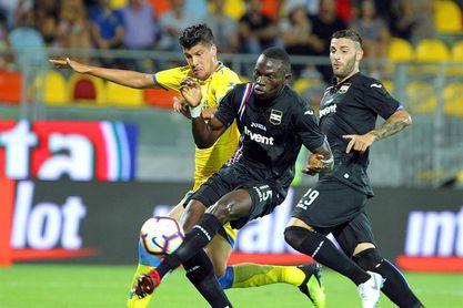El Sampdoria no da opción al Frosinone en el regreso de Joel Campbell (0-5)
