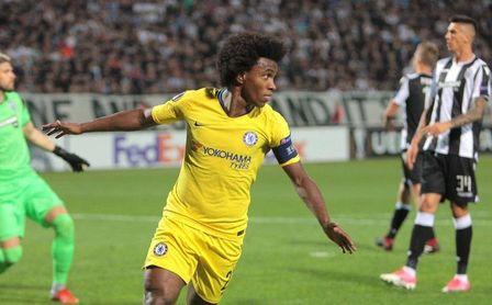 Chelsea, Lazio y Sevilla solventan el debut; Marsella y Villarreal tropiezan