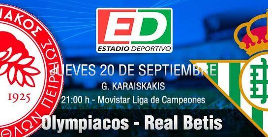 Olympiacos-Real Betis: Desempolva su traje con ilusión