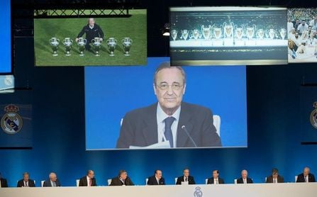 Las cuentas de la Decimotercera y el nuevo Bernabéu ante los socios