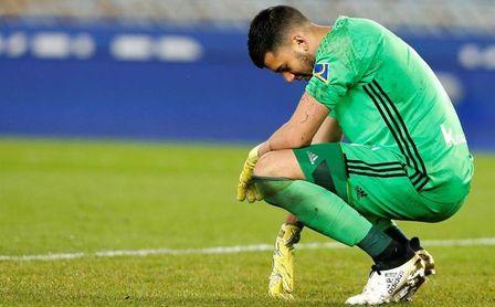 Rulli no sale reforzado de la victoria realista en Huesca, a pesar del 0-1