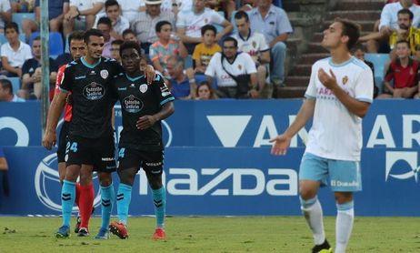 0-2. El Lugo le saca los colores a un superado Real Zaragoza