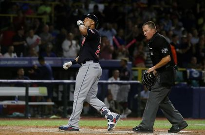 5-4. Brantley sella la victoria de los Indios