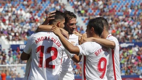 Ben Yedder cree que el Sevilla puede ganar el miércoles al Real Madrid.