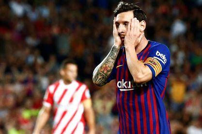 El Barcelona acusa una ´expulsión de VAR´ y sufre primer pinchazo
