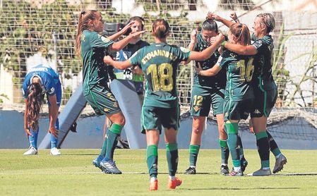 El Betis Féminas sumó su primer triunfo del curso al ganar al Málaga (0-3).