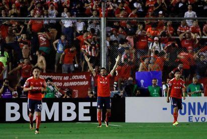 Independiente empató con Banfield y queda lejos de la disputa por el título