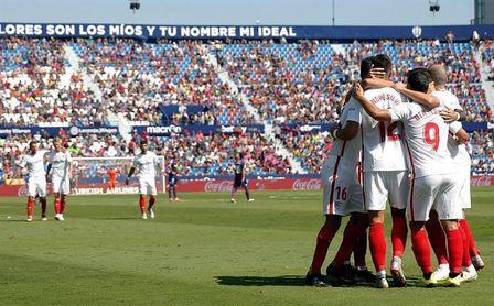 El colista Leganés y el renacido Sevilla miden a Barça y Real Madrid