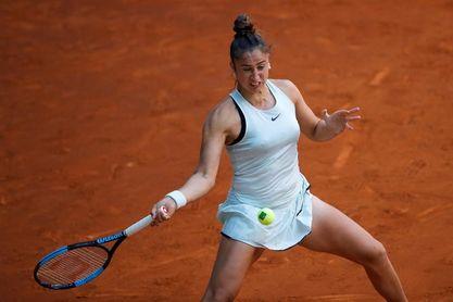 La española Sara Sorribes se despide del torneo de Wuhan en su debut