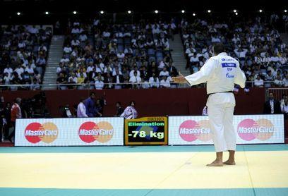 La eliminación de Ángel Parra en +100 kg cierra la actuación española en Bakú